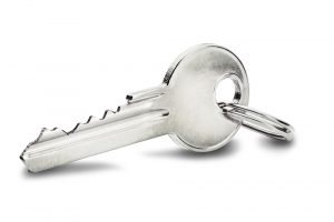 Estate,Concept,,Key,Ring,And,Keys,On,Isolated,Background